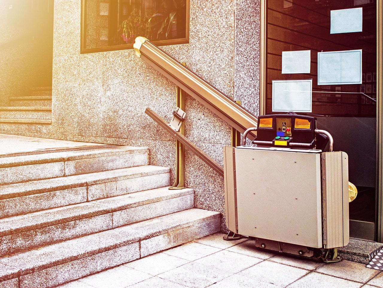 Treppenlifte Kosten Treppe System